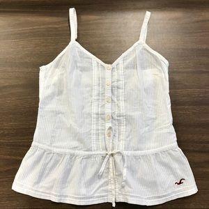 White spaghetti strap shirt